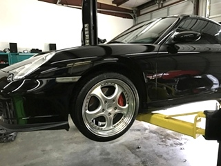 Porsche Turbo Repair  Porsche 996 Turbo Oil Service Knoville TN
