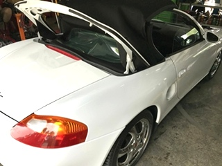 Porsche Repair Porsche Boxster Convertable Top Repair