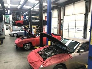 Classic Porsche Repair