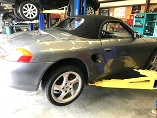 Porsche Boxster Wheel Bearing Replacement
