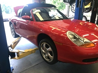 Porsche Power Steering Repair