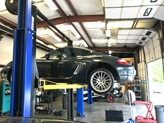 PORSCHE REPAIR Porsche Cayman Shift Cable Service and Repair