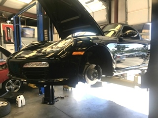 Porsche Oil Service and Brake Fluid Flush