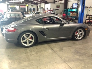 Porsche Suspension Upgrade   Porsche Cayman Suspension Upgrade