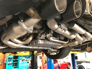 Porsche Repair Porsche 991 SOUL Exhaust