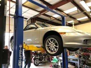 Porsche Clutch Repair