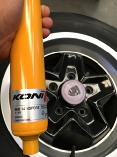Porsche Repair Porsche 944 S Koni Suspension Upgrade