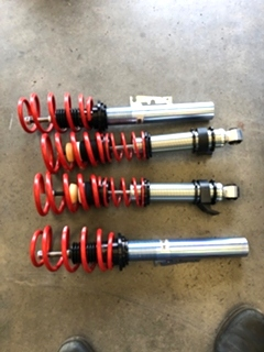 Porsche 996 Carrera HR Coilover Suspension Upgrade Porsche 996 Carrera HR Coilover Suspension Upgrade. Porsche 996 Carrera H&R Coilover Suspension Upgrade